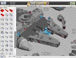 Lego Digital Designer screenshot